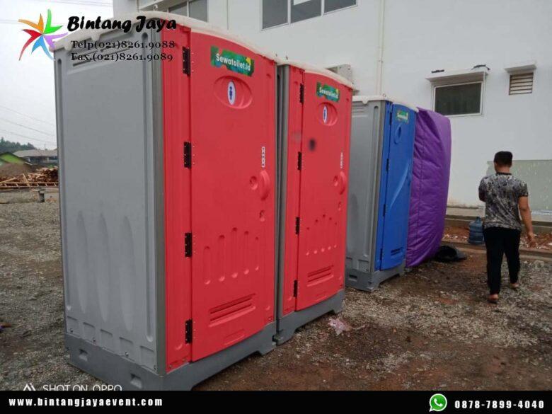Sewa Toilet Portable Warna Warni Free Ongkir Pasang dan Bongkar