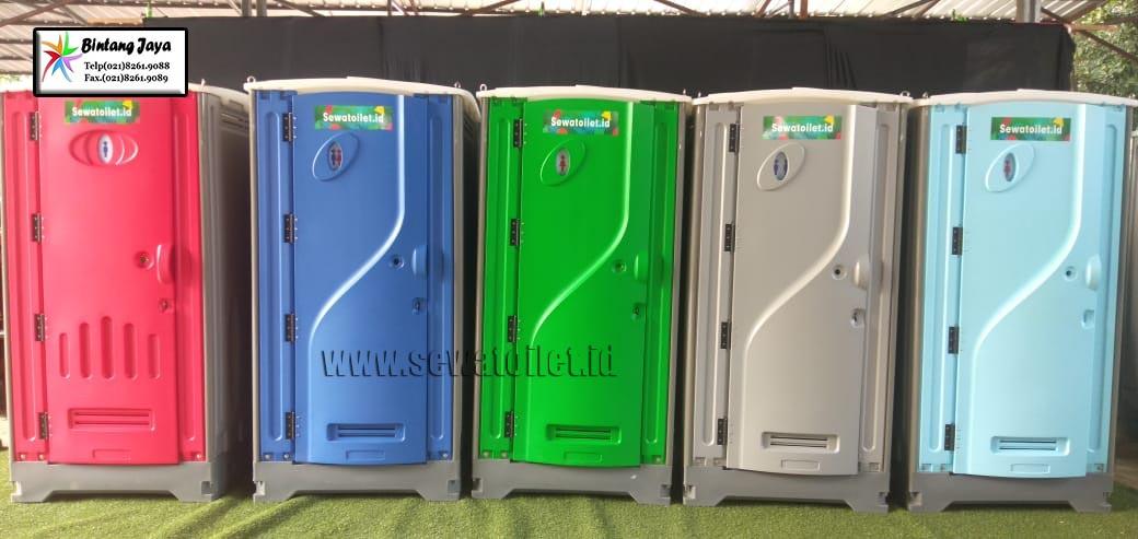 Sewa Toilet Portable Fullset Siap Pakai Jakarta