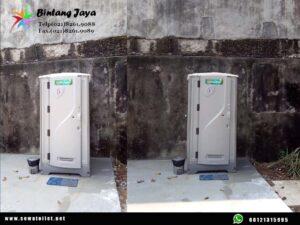 Sewa toilet portable Fullset Jongkok Murah siap pakai