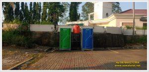 Sewa Toilet Portable Event Savana Club Balaraja Tangerang