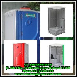 Rental Toilet Portable Bersih-Alat Pesta Jakarta