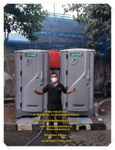 Sewa Toilet Portable Bersih Sehat Dan Wangi Acara ASDP Cempaka Putih